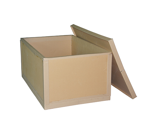 Honeycomb cardboard boxes and wooden